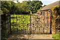 TF3271 : Church gates by Richard Croft