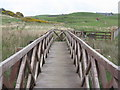 NR3868 : Finlaggan raised walkway by M J Richardson