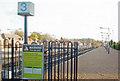 TQ2258 : Tattenham Corner Station by Ben Brooksbank