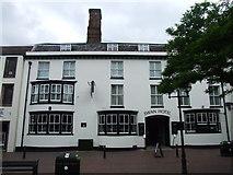 SJ9223 : Swan Hotel, Stafford by Chris Whippet