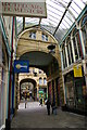 SE0925 : Halifax: Arcade off Old Market by Christopher Hilton