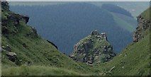 SK1491 : The Tower, Alport Castles by Andrew Hill