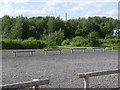 SK2503 : Car park at Pooley Country Park by Alan Murray-Rust