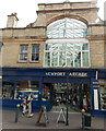 ST3088 : Western entrance to Newport Arcade, Newport by Jaggery