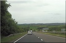 SX9184 : A30 approaching A380 junction by John Firth