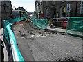 NY1230 : Reconstruction of Town Centre Cockermouth by Steve  Fareham