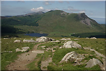 SH5953 : From the Rhyd Ddu Path by Peter Trimming