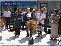 SX3384 : Launceston Town Square Official Opening by Paul Loft