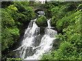 NS5457 : Rouken Glen Waterfall by Josie Campbell