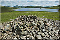 SD1496 : Ancient Cairn and Devoke Water by Tom Richardson