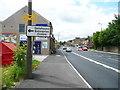 SE1315 : Tour de France waymarks, Lockwood Road by Humphrey Bolton