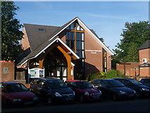 SZ0095 : Broadstone: the Methodist church by Chris Downer