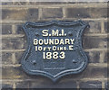 TQ3083 : St Mary Islington boundary marker by Julian Osley