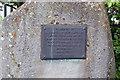 NH5349 : Memorial to AJ Mann by Richard Dorrell