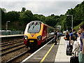 SH5771 : Arriving at Bangor by Peter Trimming
