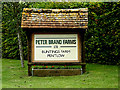 TL8244 : Buntings Farm sign by Adrian Cable