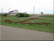 TG5307 : Floral Anchor, Great Yarmouth by G Laird