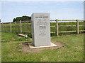 TF9941 : Memorial   at RAF Langham by Evelyn Simak