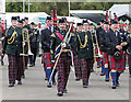 NT1472 : Pipe band at the Royal Highland Show by William Starkey