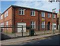 TQ0466 : Chertsey ACF hall, Drill Hall Road by Alan Hunt