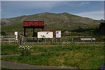 SH5752 : Rhyd Ddu Railway Station by Peter Trimming