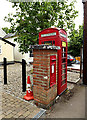 TL8344 : Foxearth George V Postbox by Adrian Cable