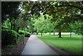 TQ1779 : Path in Lammas Park by N Chadwick
