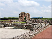 SJ5608 : Ruins of Viroconium bath house Wroxeter by Chris Whippet