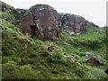 NZ5618 : Quarry, Eston Nab by Christopher Hall
