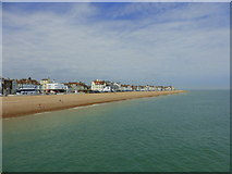 TR3752 : View from the north side of the pier, Deal by pam fray