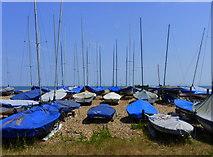 TR3751 : Downs Sailing Club, Lower Walmer by pam fray