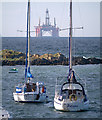 J5383 : Yachts, Groomsport by Rossographer
