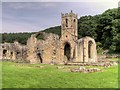 SE4498 : The Priory Church, Mount Grace Priory by David Dixon