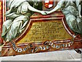 SU1084 : The St John Triptych (part), Church of St Mary, Lydiard Tregoze (2) by Brian Robert Marshall