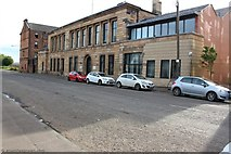NS5565 : Old Govan Burgh Halls and Police Station by Colin Quigley