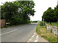 TL8348 : B1065 Churchgate, Glemsford by Adrian Cable