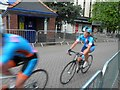 SE3406 : Barnsley cycle racing by Steve  Fareham