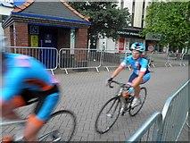 SE3406 : Barnsley cycle racing by Steve  Fareham