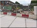SK5635 : Tramway construction at Ruddington Lane by Alan Murray-Rust