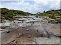 SK0888 : Stream above Kinder Downfall by Graham Hogg