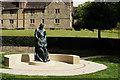 TQ3937 : McIndoe Memorial Statue, East Grinstead by Peter Trimming
