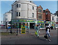 SY6779 : Colourful shop to let in Weymouth by Jaggery