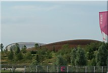 TQ3785 : View of the Velodrome from Queen Elizabeth Olympic Park #3 by Robert Lamb