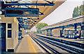 TQ2178 : Turnham Green Station, view east 2011 by Ben Brooksbank