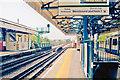 TQ2178 : Turnham Green Station, view west 2011 by Ben Brooksbank