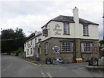 SO2956 : The Swan Inn, Kington by Richard Webb