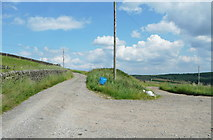 SE0328 : Junction of Halifax Bridleways 155 and 156 by Humphrey Bolton