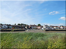 TM0321 : East Donyland from Wivenhoe by Hamish Griffin