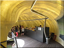 TQ2679 : Cafe counter in Serpentine Gallery Pavilion 2014 by David Hawgood