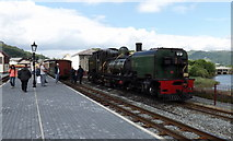 SH5738 : No. 143 rests before its return to Caernarfon by Richard Hoare